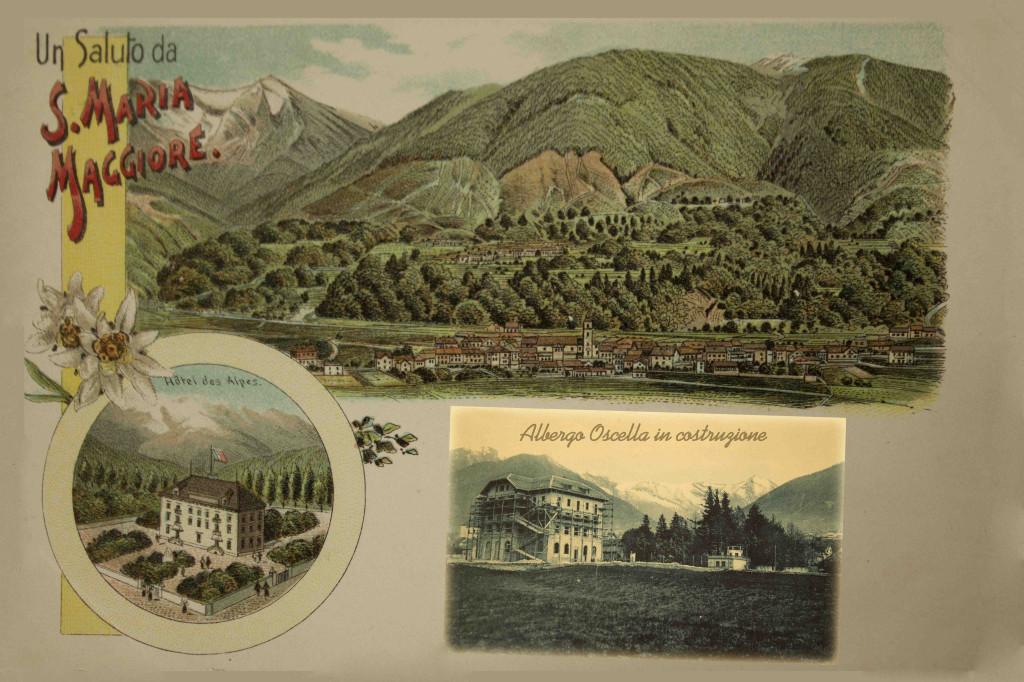 Cartolina villeggiatura Valle Vigezzo