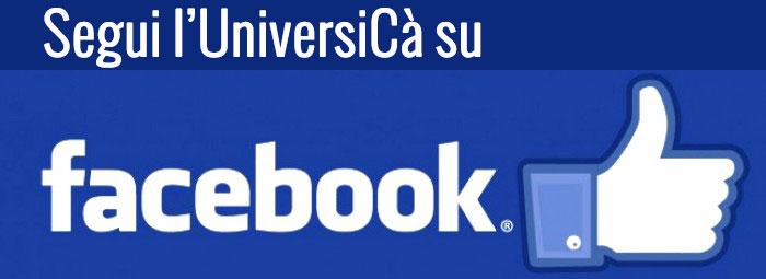 UniversiCà su Facebook