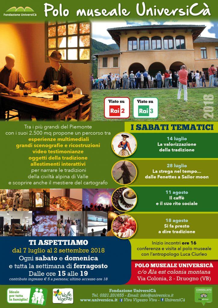 f28276f6f4ba Apertura estate 2018 del Polo UniversiCà di Druogno - Fondazione ...
