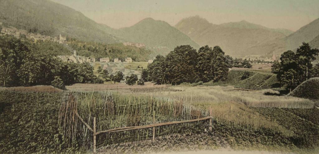 Cartolina agricoltura Val Vigezzo